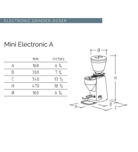 マッツアー/MAZZER mini ELECTRONIC アルミノ