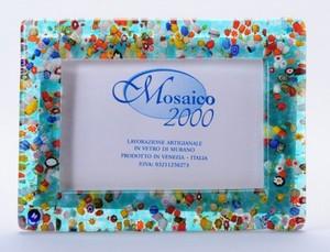 ヴェネチア 写真立て ブルーグリーン 横型
